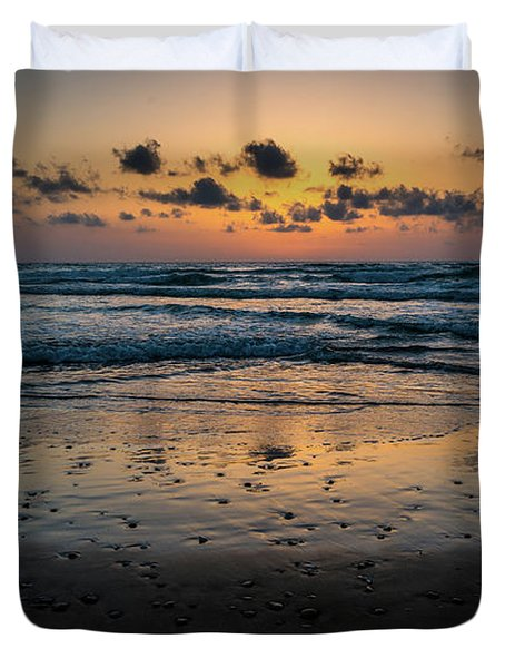 Goodnight Sea Duvet Cover