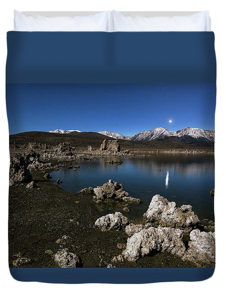 Goodnight Venus Duvet Cover by Tassanee Angiolillo