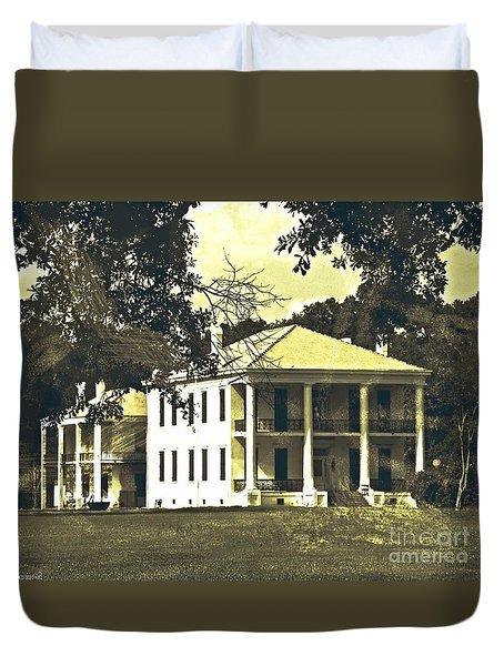 Goodwood Plantation Baton Rouge Circa 1852 Duvet Cover