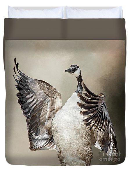 Goose Chase Duvet Cover