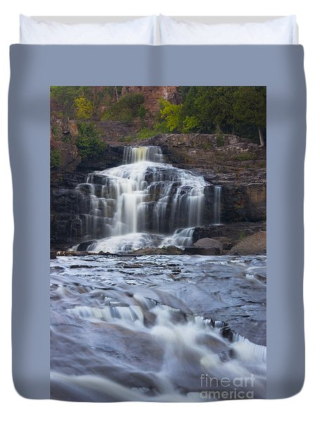 Gooseberry Falls North Shore Minnesota Duvet Cover