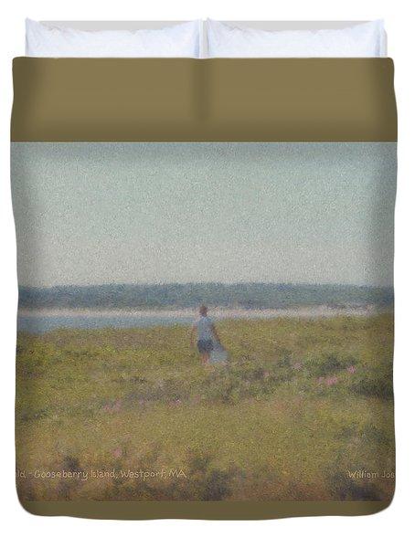 Gooseberry Island Westport Ma Duvet Cover