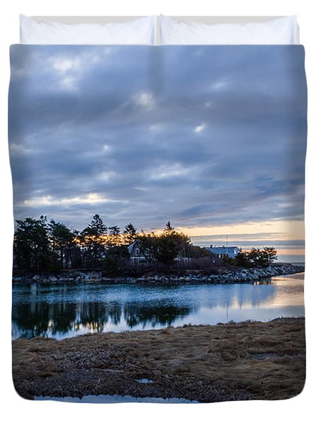 Goosefare Brook - Saco Maine Duvet Cover