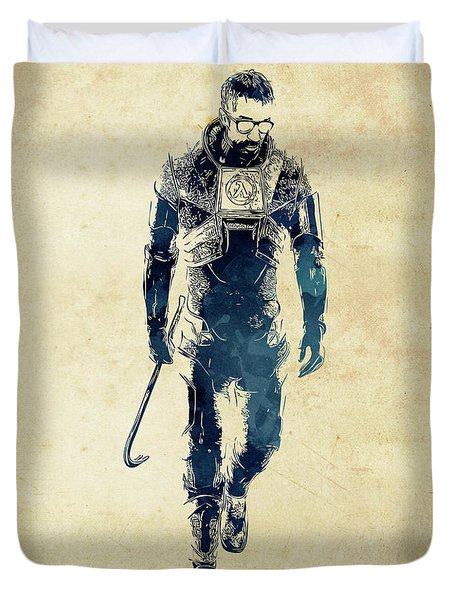 Gordon Freeman Duvet Cover