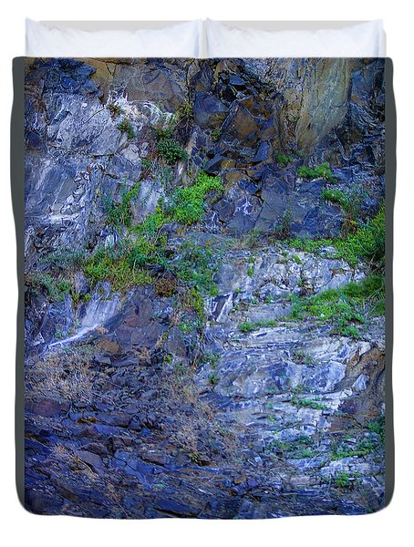 Duvet Cover featuring the photograph Gorge-2 by Dale Stillman