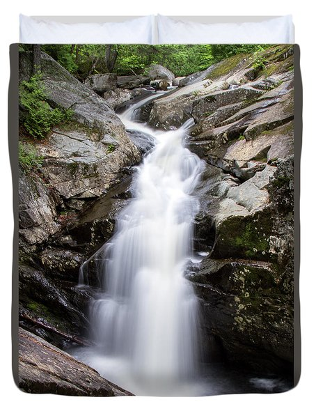 Gorge Waterfall Duvet Cover