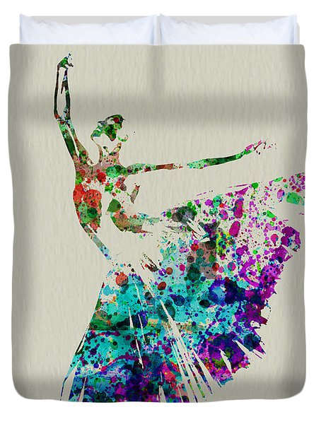 Gorgeous Ballerina Duvet Cover