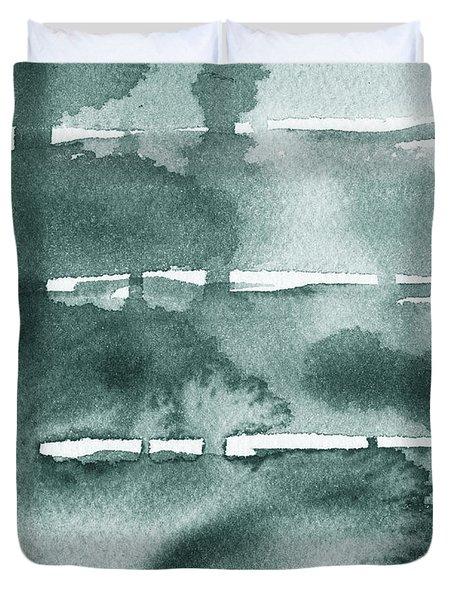 Gorgeous Grays Abstract Interior Decor Ix Duvet Cover