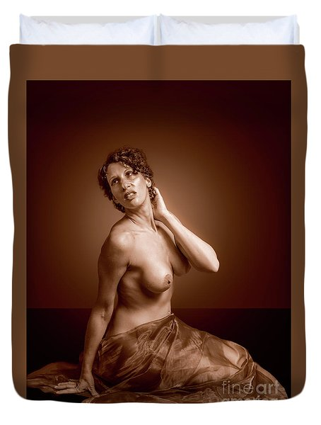 Gorgeous Nude. Duvet Cover