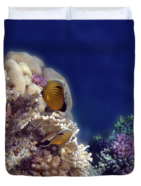 Gorgeous Red Sea Underwater World 3 Duvet Cover
