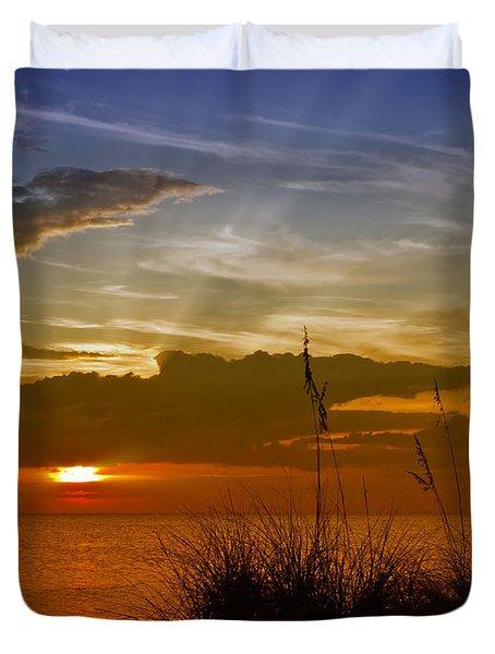 Gorgeous Sunset Duvet Cover by Melanie Viola