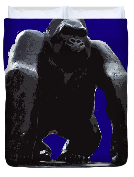 Gorilla Art Duvet Cover