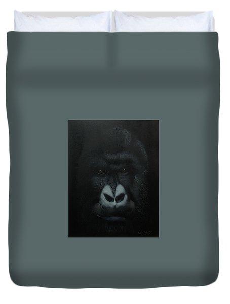 Gorille Duvet Cover