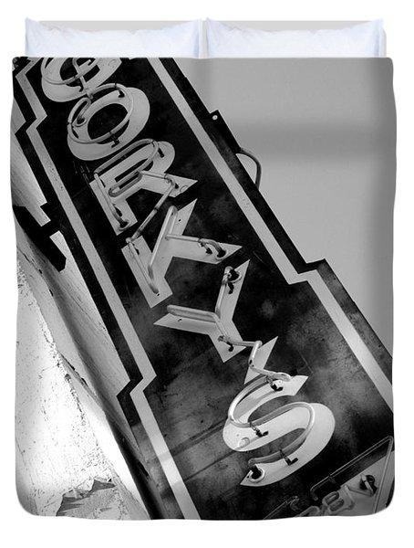 Gorky's Cafe Duvet Cover