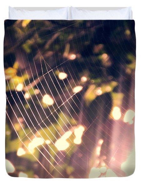 Gossamer Glow Duvet Cover