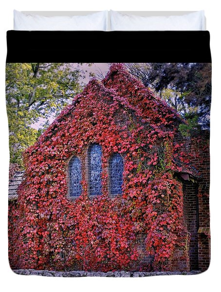 Gostwyck Chapel Duvet Cover by Wallaroo Images