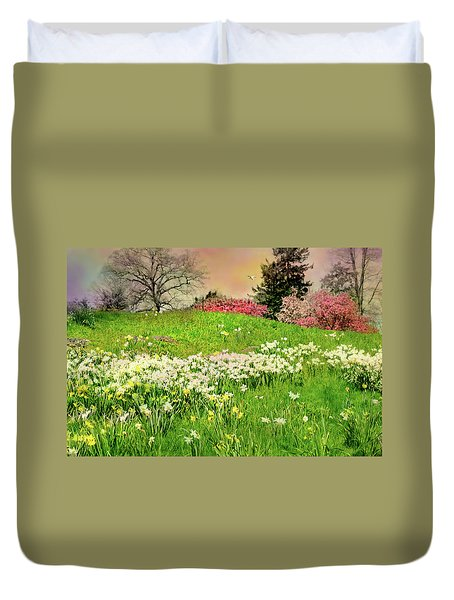 Duvet Cover featuring the photograph Got A Thing For You by Diana Angstadt