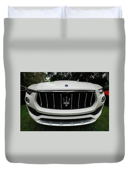 Duvet Cover featuring the photograph Got A Whale Of A Tale To Tell by John Schneider