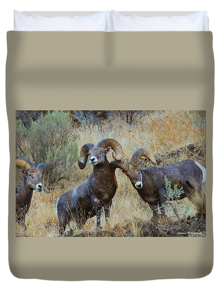 Got An Itch... Duvet Cover by Steve Warnstaff