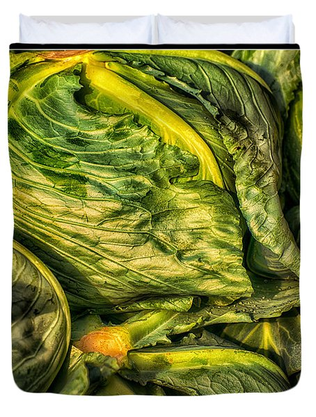 Got Cabbage? Duvet Cover