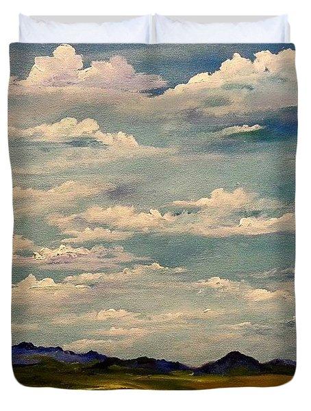 Got Clouds Duvet Cover