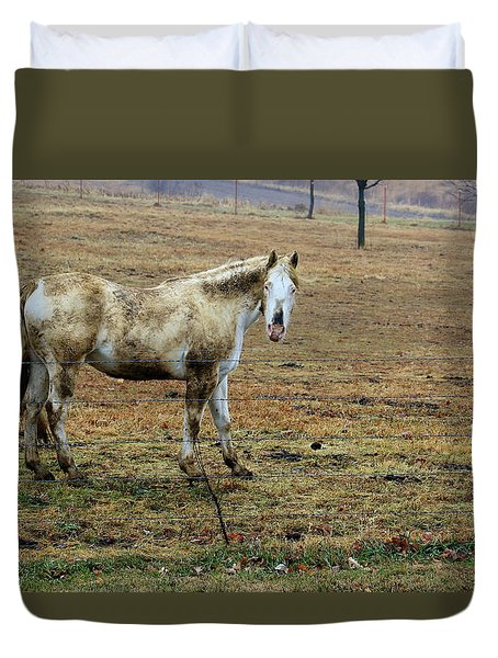 Got Mud ? Duvet Cover