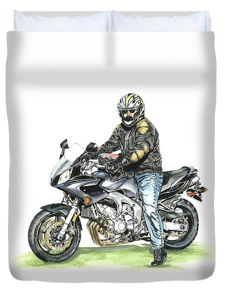 Got To Ride Duvet Cover