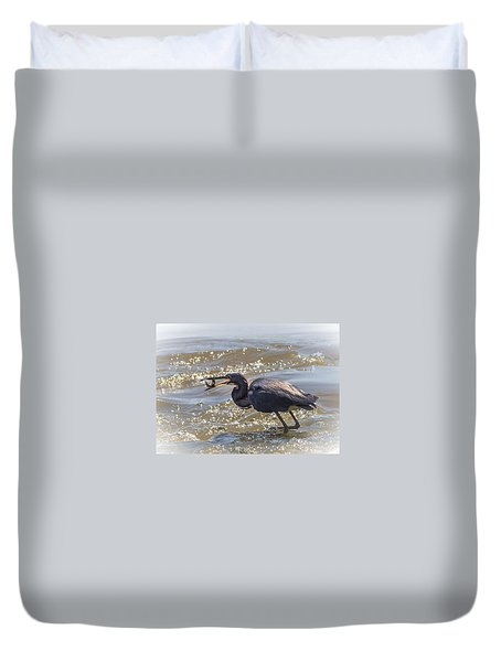 Duvet Cover featuring the photograph Got You by Gregory Daley  PPSA