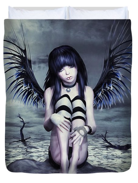 Goth Fairy Duvet Cover