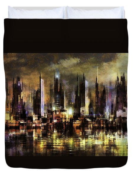 Gotham City IIi Duvet Cover