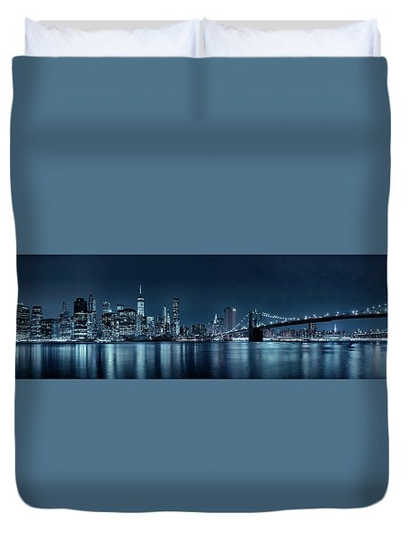 Gotham City Skyline Duvet Cover