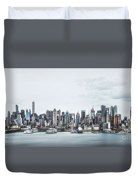 Gotham Duvet Cover