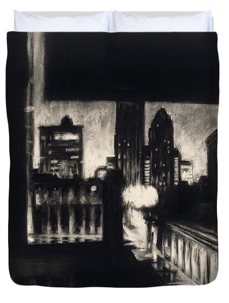 Gotham II Duvet Cover