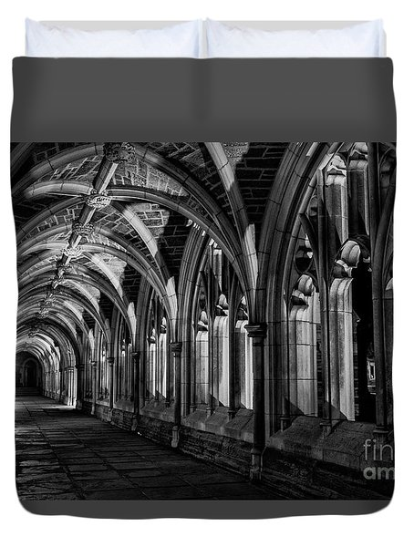 Gothic Arches Duvet Cover