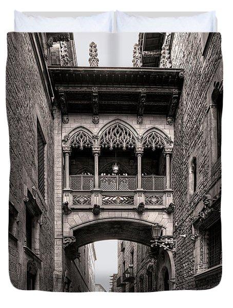 Gothic Barcelona Duvet Cover