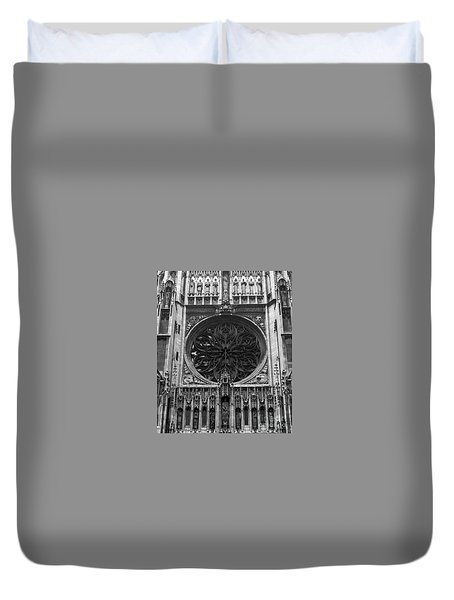 Duvet Cover featuring the photograph Gothic by Brian Jones