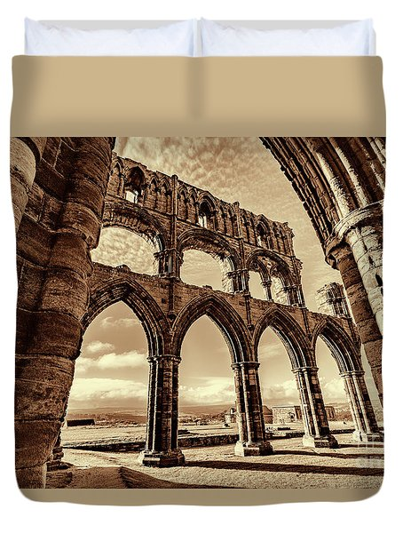 Duvet Cover featuring the photograph Gothic Dreams by Anthony Baatz