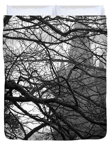 Gothic Duvet Cover by Gaspar Avila
