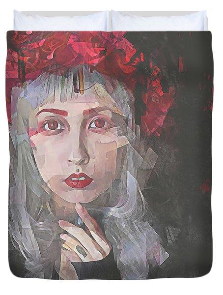 Gothic Petal Duvet Cover