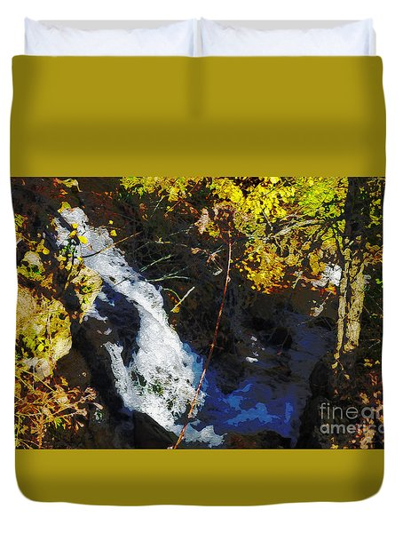 Governor Dodge State Park Duvet Cover by David Blank