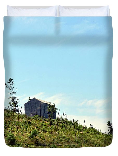 Governors Island Hills Duvet Cover