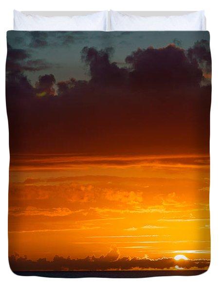Gower Sundown Duvet Cover