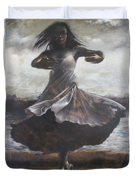 Grace And Movement Duvet Cover
