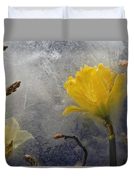 Earth To Heaven Duvet Cover