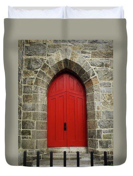 Grace Church Duvet Cover