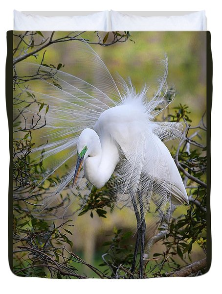 Grace In Nature Duvet Cover