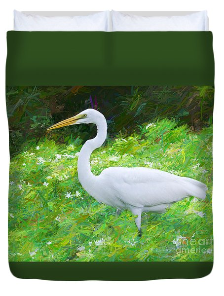 Grace In Nature Duvet Cover by Judy Kay