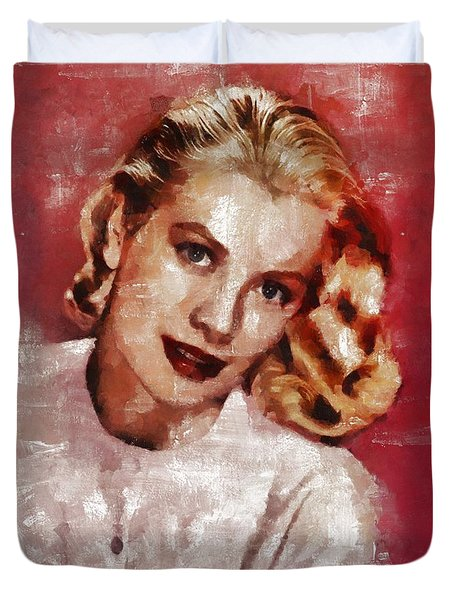 Grace Kelly, Actress And Princess Duvet Cover