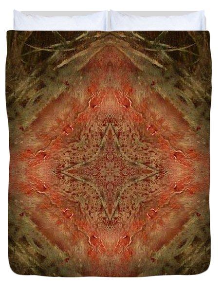Grace Mandala Duvet Cover