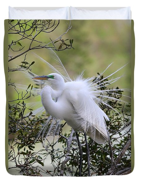 Grace In Nature II Duvet Cover